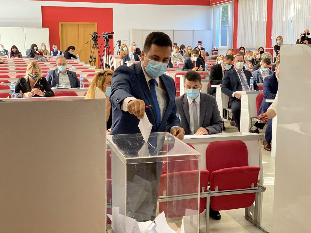 U toku konstitutivna sednica Skupštine grada Šapca