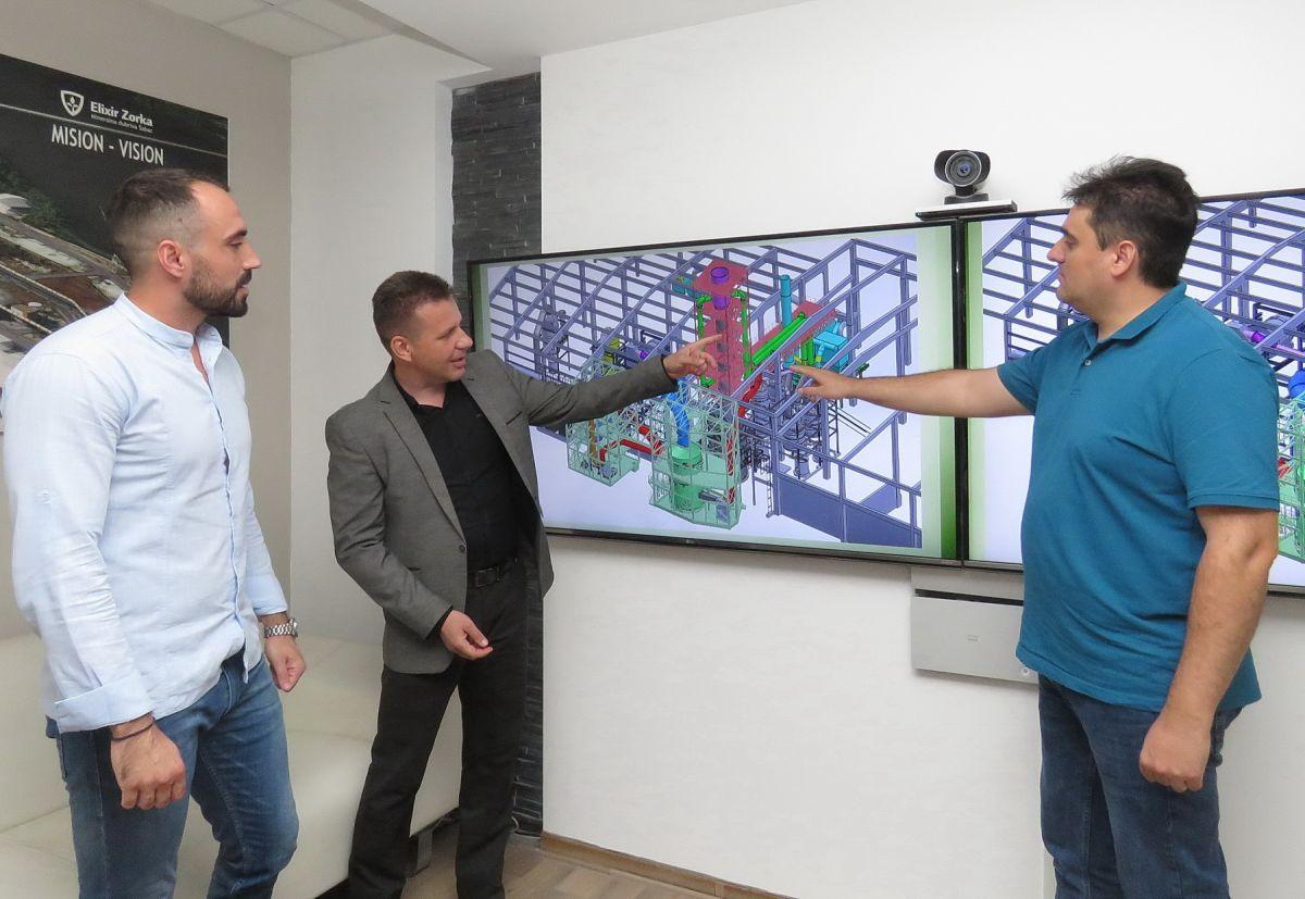 Фото: Глас Подриња, Др немања тошковић, Милан Стошић и Никола Белобаба (с лева на десно)