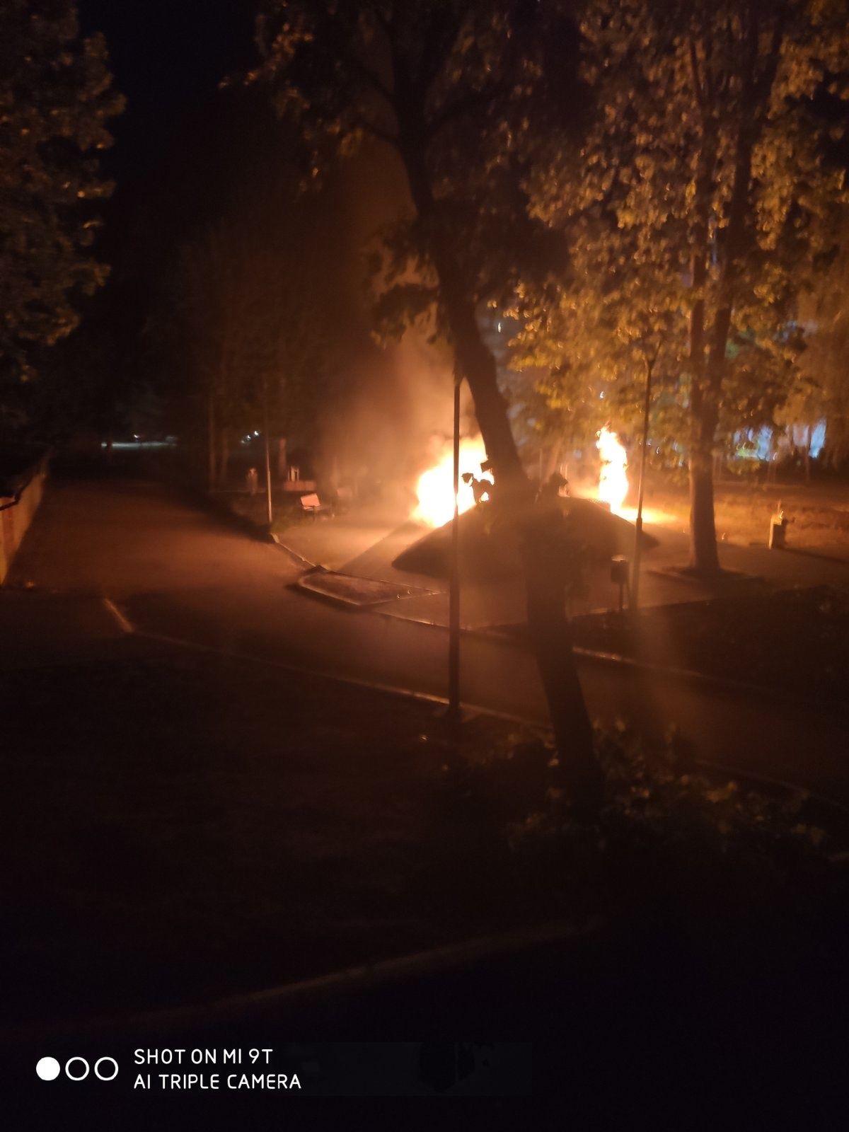 Uništen park u Benskoj bari