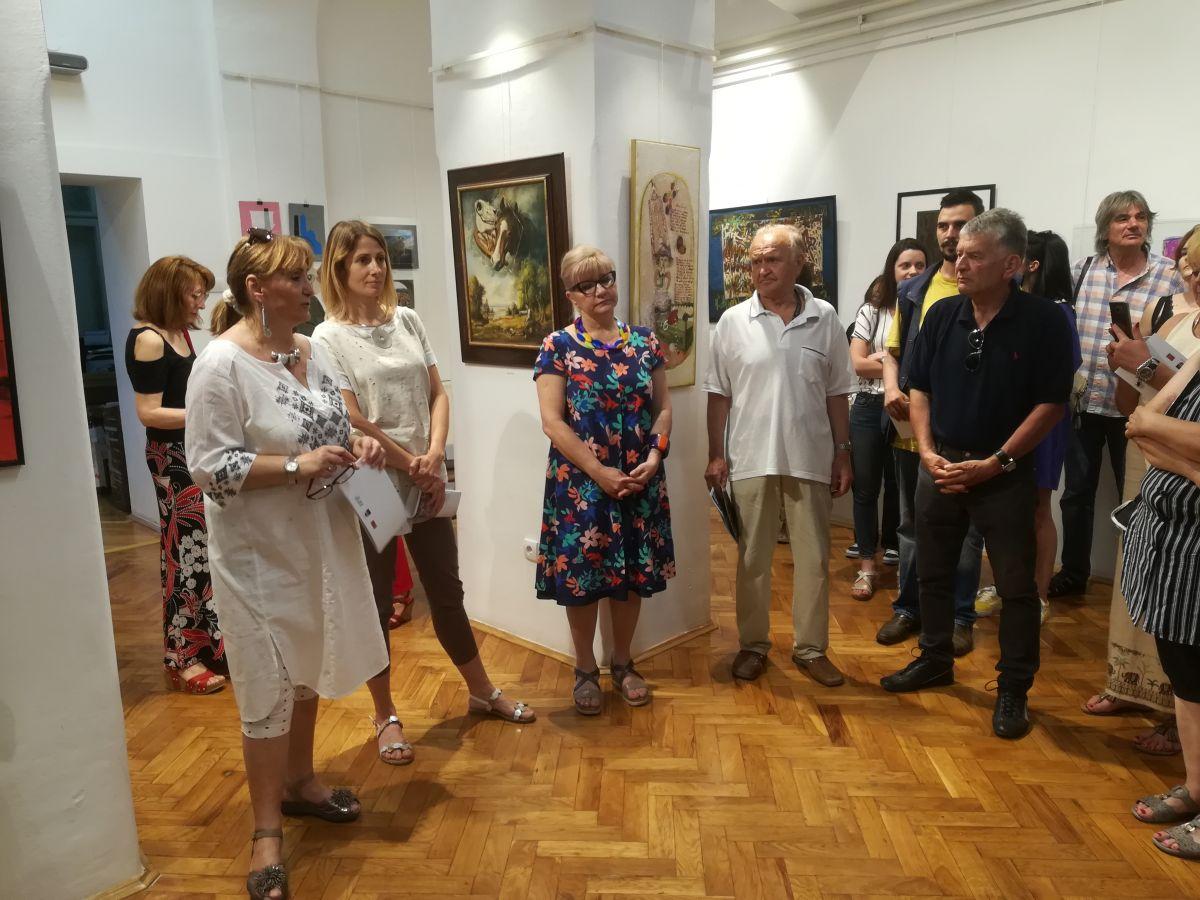 Шабачка уметничка сцена - изложба УСЛШ