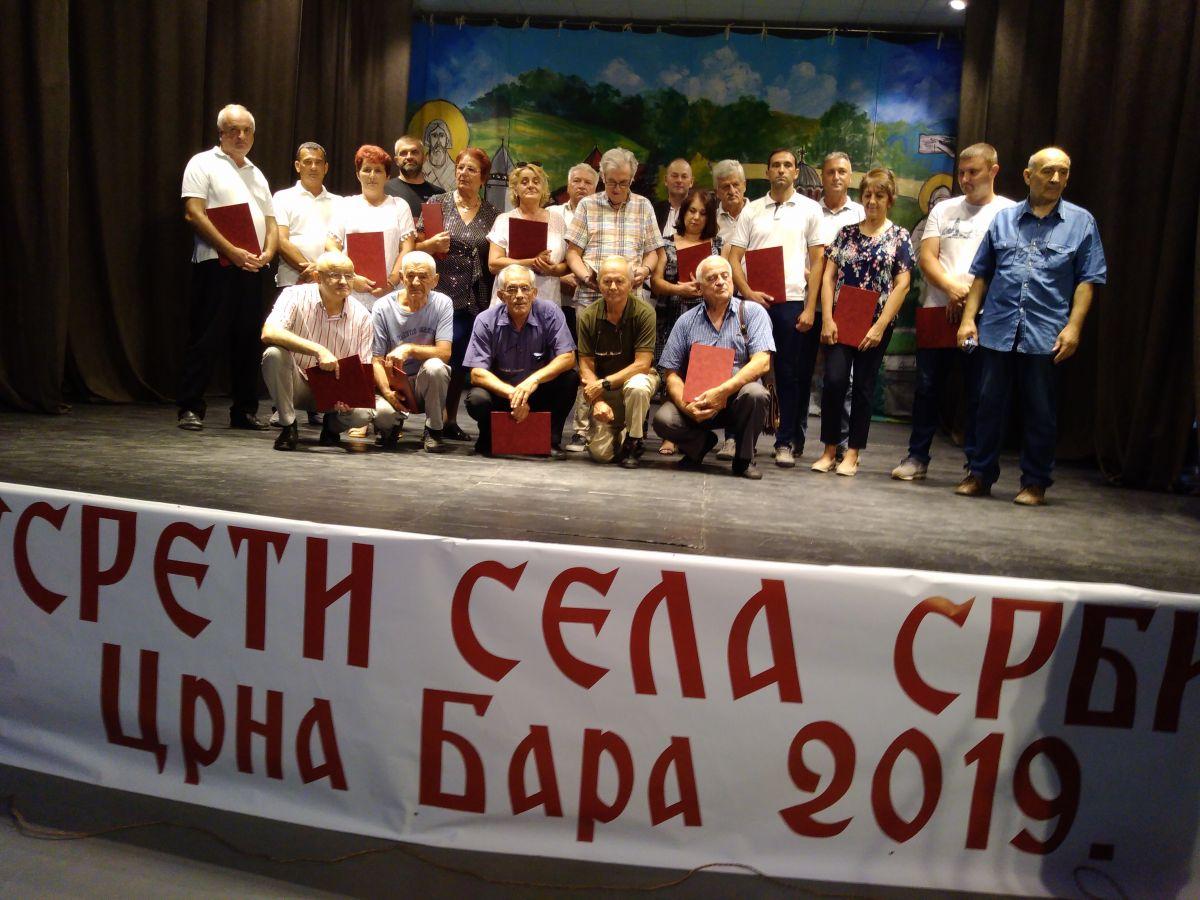 U Crnoj Bari održani Susreti sela Srbije