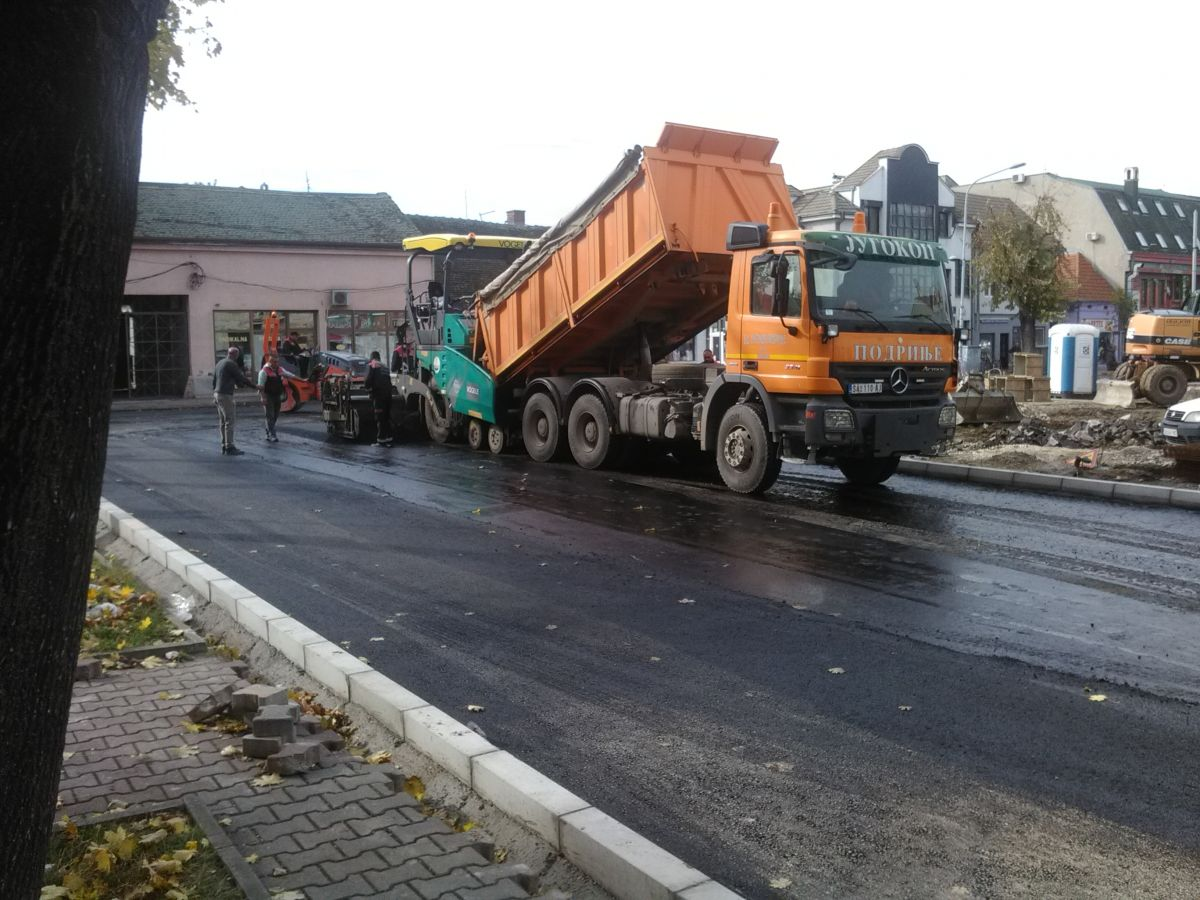 Отварање саобраћаја у улицама у близини Винаверовог трга