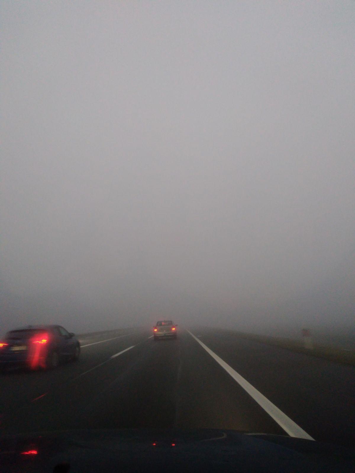 AMSS: Vidljivot ograničena zbog magle i sumaglice