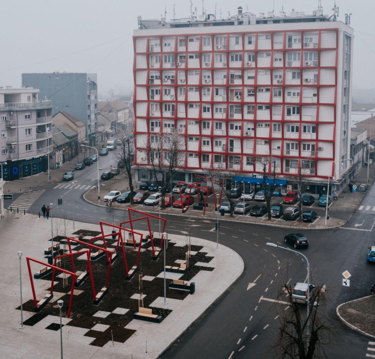 Višeznačni arhitektonski izraz kao omaž velikom srpskom književniku