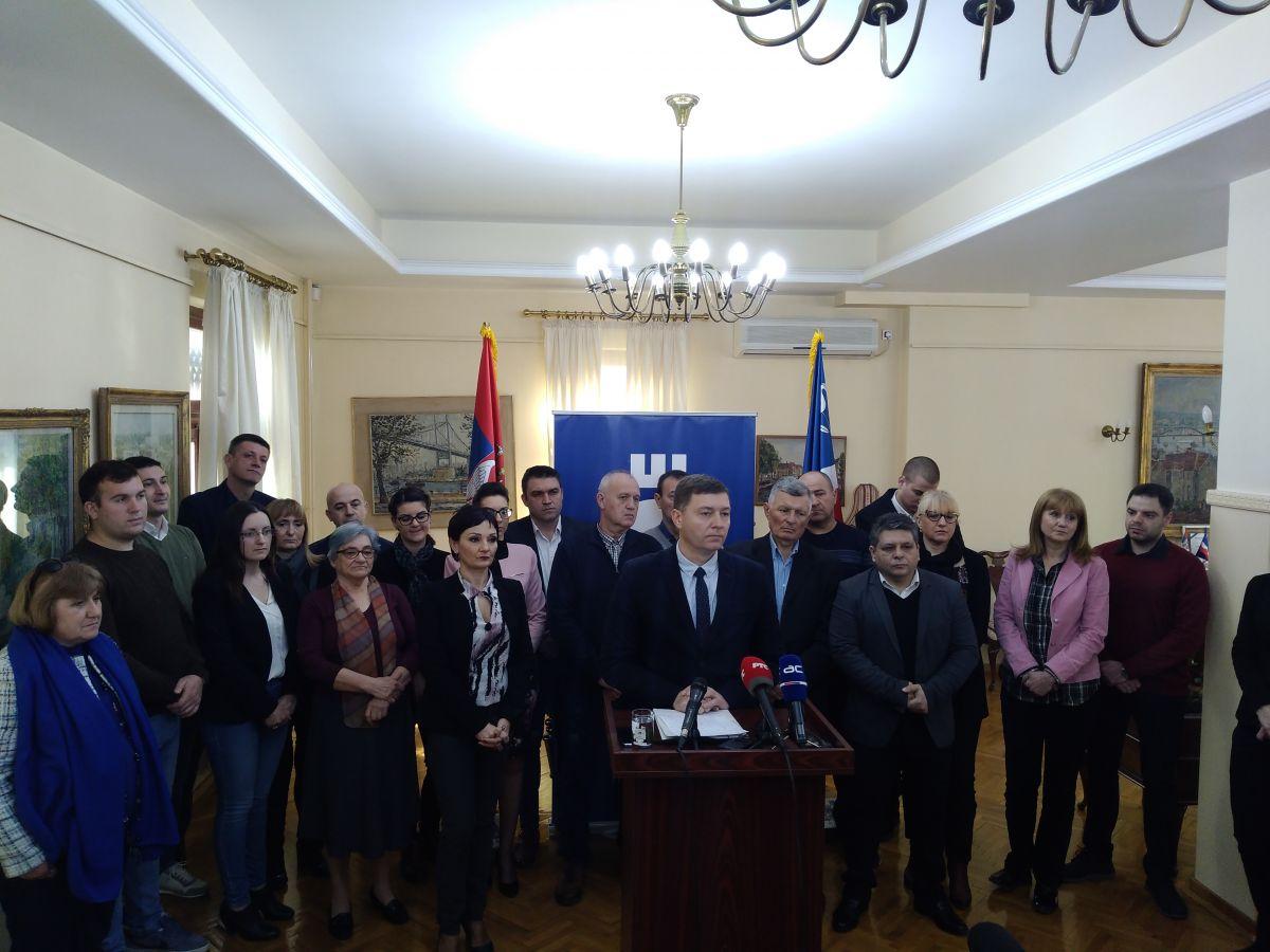 Zelenović: Doneli smo odluku da branimo normalan život u Šapcu