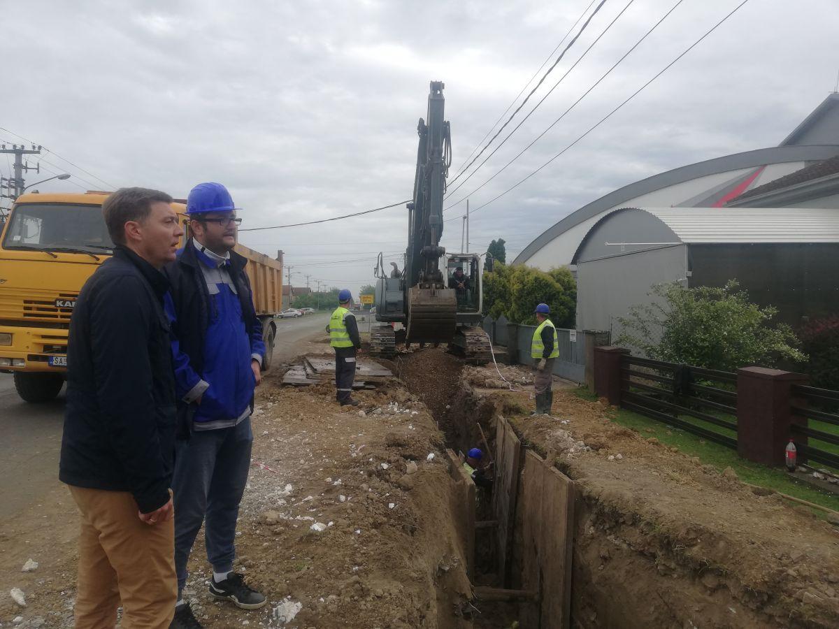 Izgradnja kanalizacione mreže u Majuru