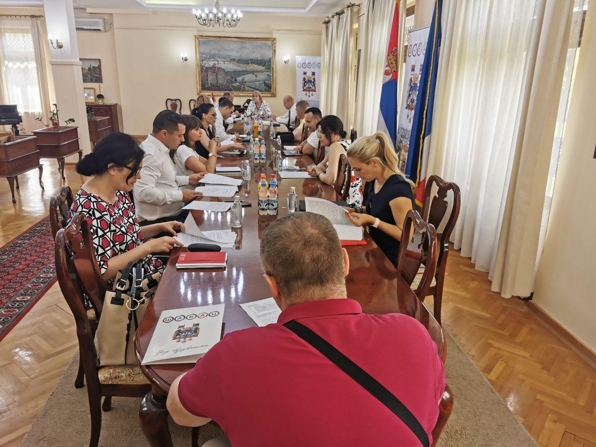 кабинет градоначелника Шапца