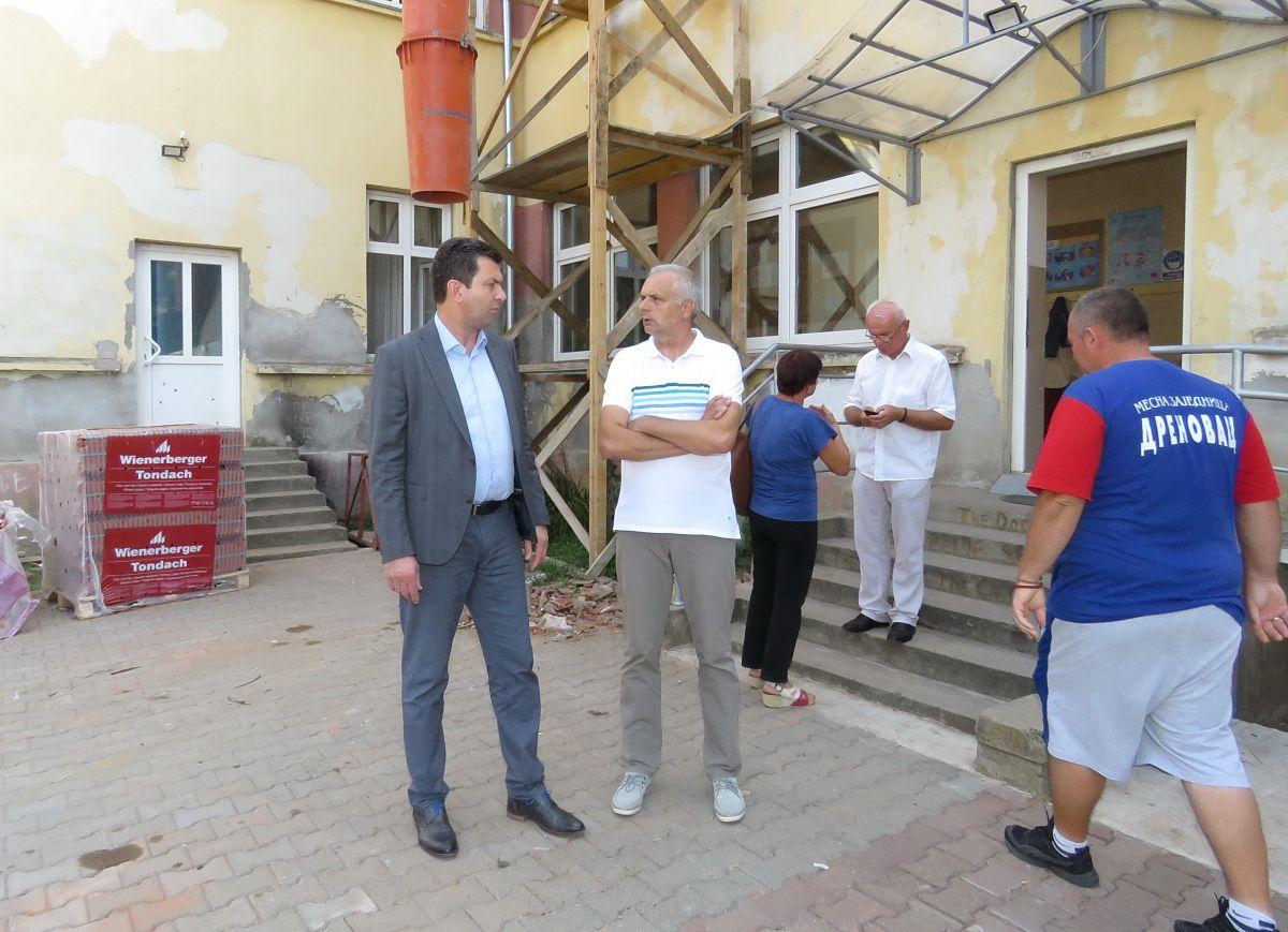 Glas Podrinja/poseta školi u Drenovcu