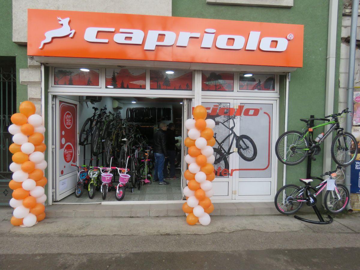 Caprioli бицикли у Шапцу