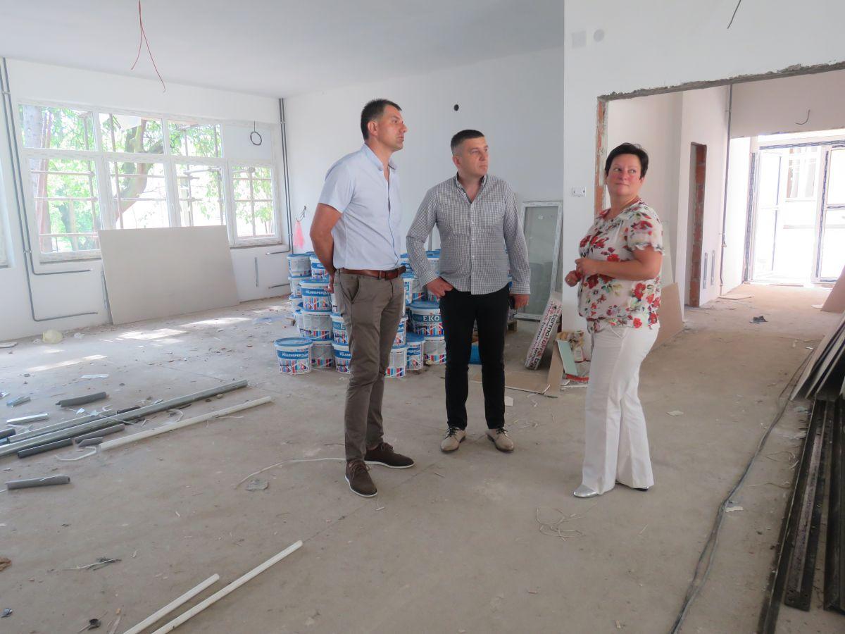 Izgradnja novog krila Doma Srednje poljoprivredne škole