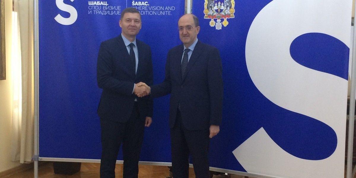 Italijanski ambasador u Šapcu