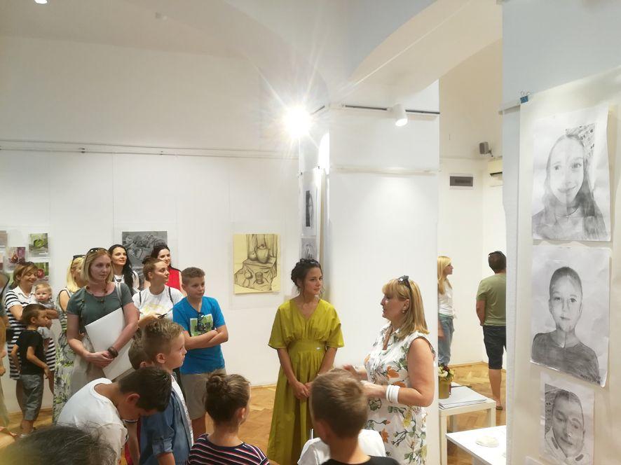 Mali atelje u galeriji