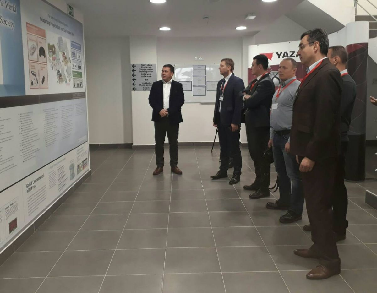 Градоначелник Шапца посетио Јазаки
