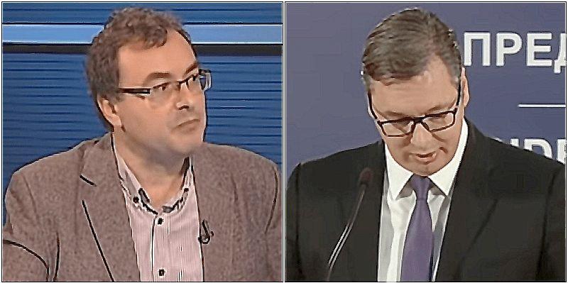 Predsednik Srbije se zapitao da li je Jovo Bakić normalan