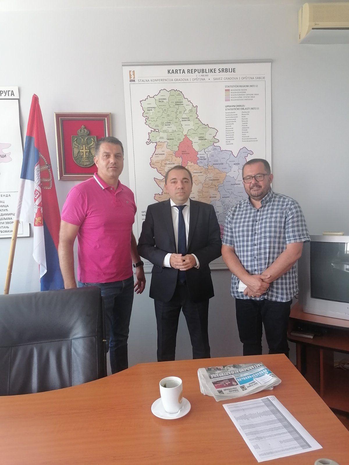 Kabinet načelnika Mačvanskog upravnog okruga