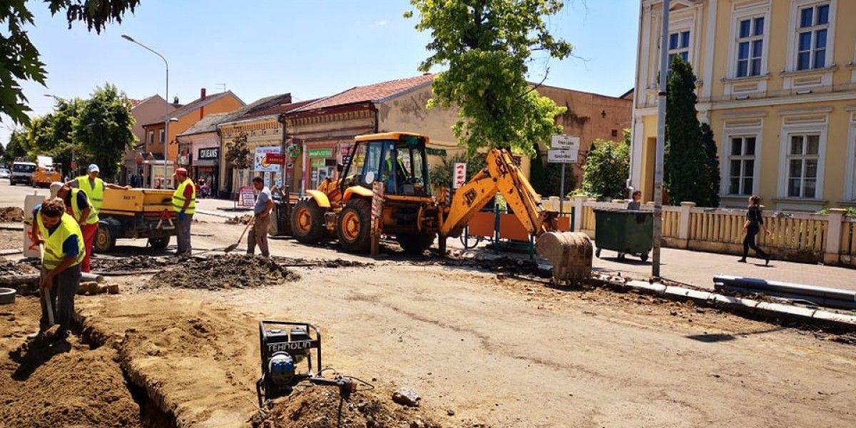 U toku rekonstrukcija Karađorđeve ulice