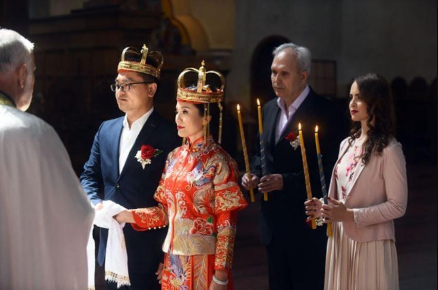 Prvi put u istoriji hrama Svetog Marka: Kinezi se zakleli na vernost