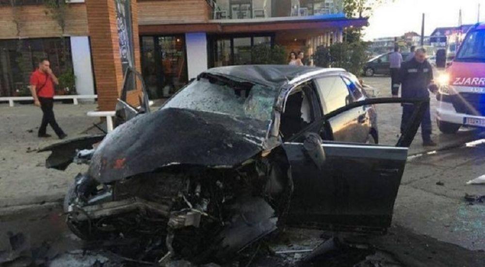 Коцељева :Човек колима ударио у камион и остао на месту мртав