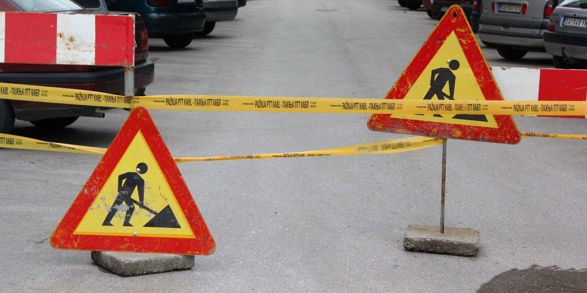 Затварање градских улица  због реконструкције коловоза