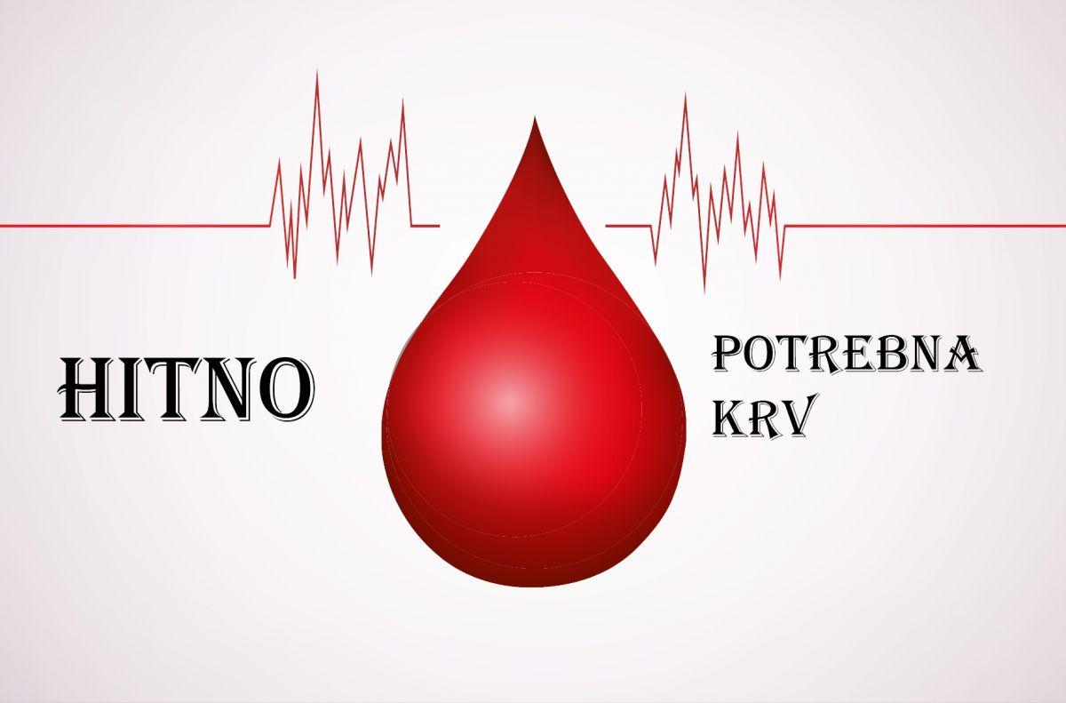 APEL: HITNO potrbena krv A krvne grupe