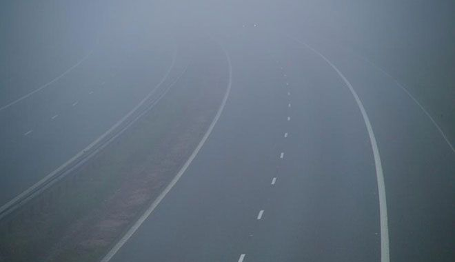 Vozači oprez: klizavi putevi u magli