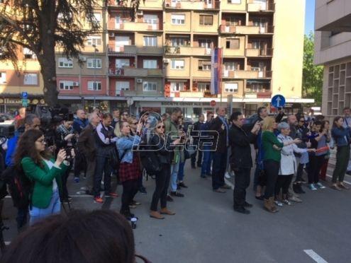 Novinari na skupu u Beogradu pozvali tužilaštvo da reaguje na pretnje njihovim kolegama