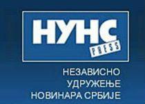 NUNS: Marić jezivo vredja Sušu zbog kolumne u Danasu