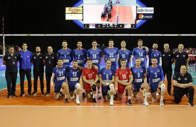 SAD ubedljivo pobedile srske odbojkaše u Ligi nacija