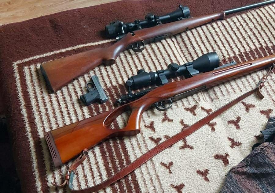 Pronađene dve puške i pištolj