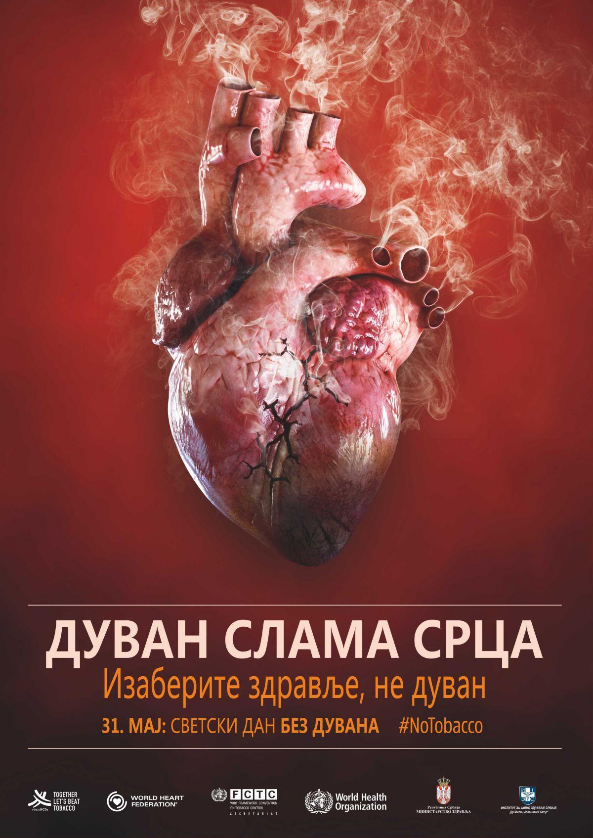 Duvan slama srca