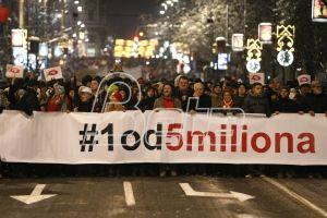 Нови протест Један од пет милиона у Београду