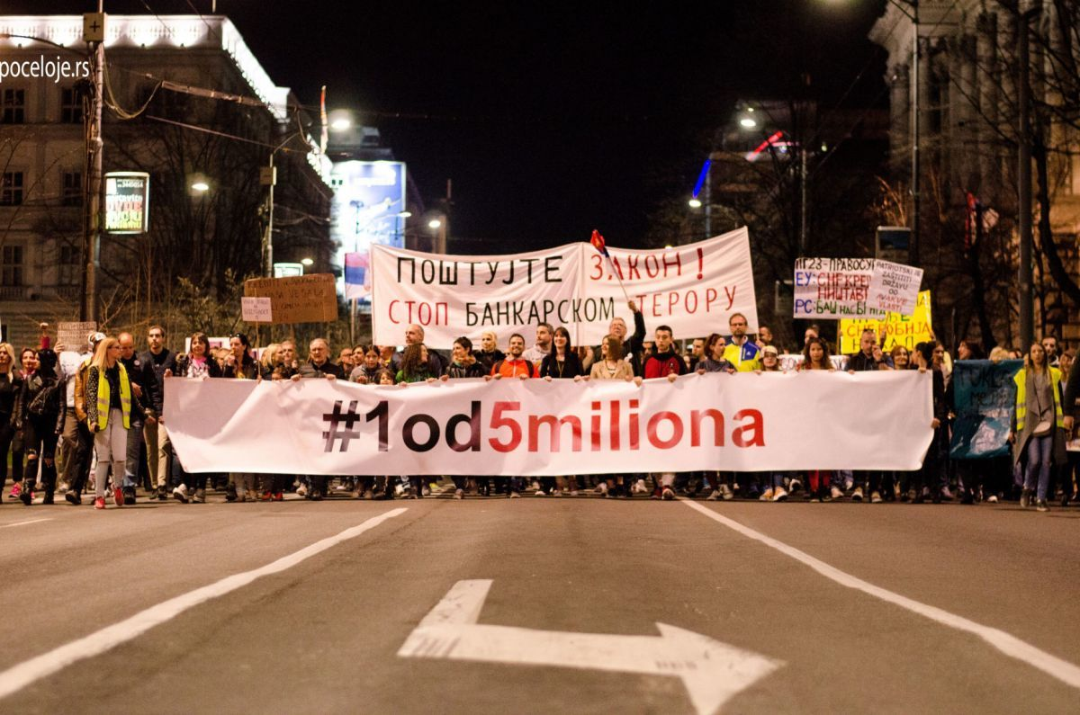 Beograd - Novi protest