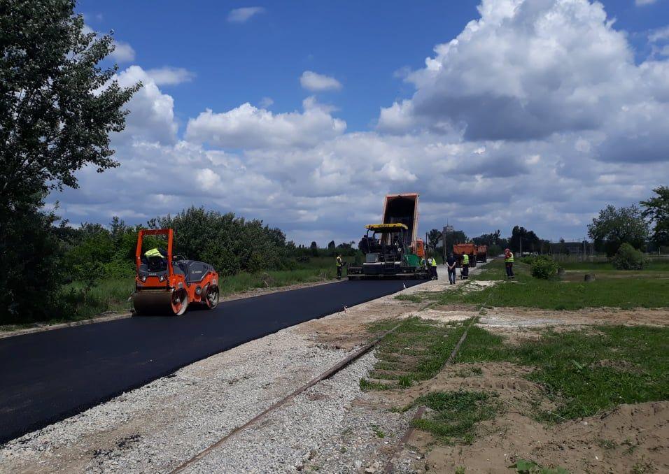 U toku asfaltiranje Savske ulice