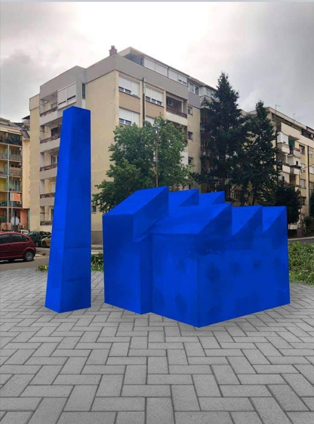 "Niče spomenik Hemijskoj industriji ""Zorka"" Šabac"