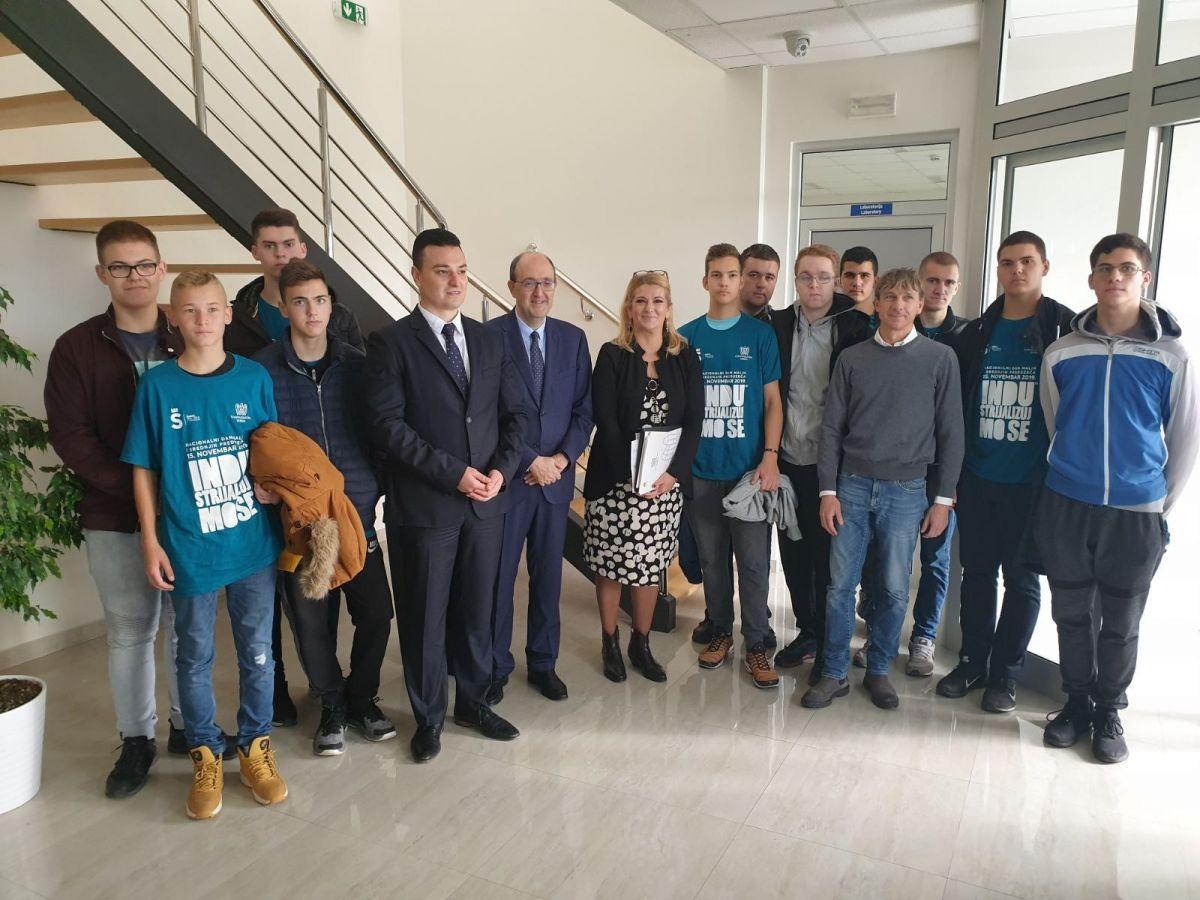 Италијански амбасадор посетио Индустријску зону у Шапцу