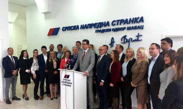 Кандидат СНС-а за градоначелника Шапца др Александар Пајић