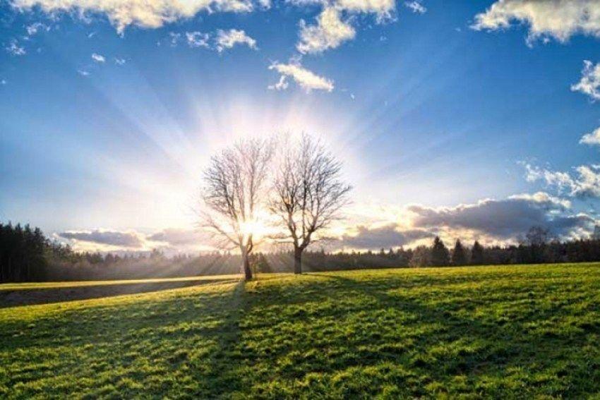 Smena sunca i oblaka