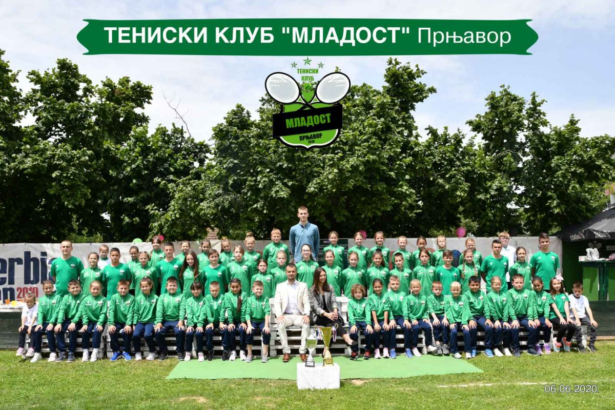 Prva dama na čelu teniskog turnira u Srbiji