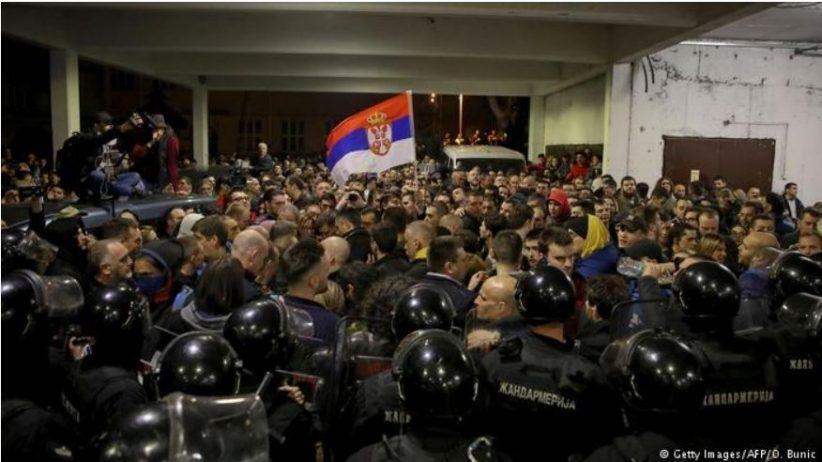 Радикализација протеста