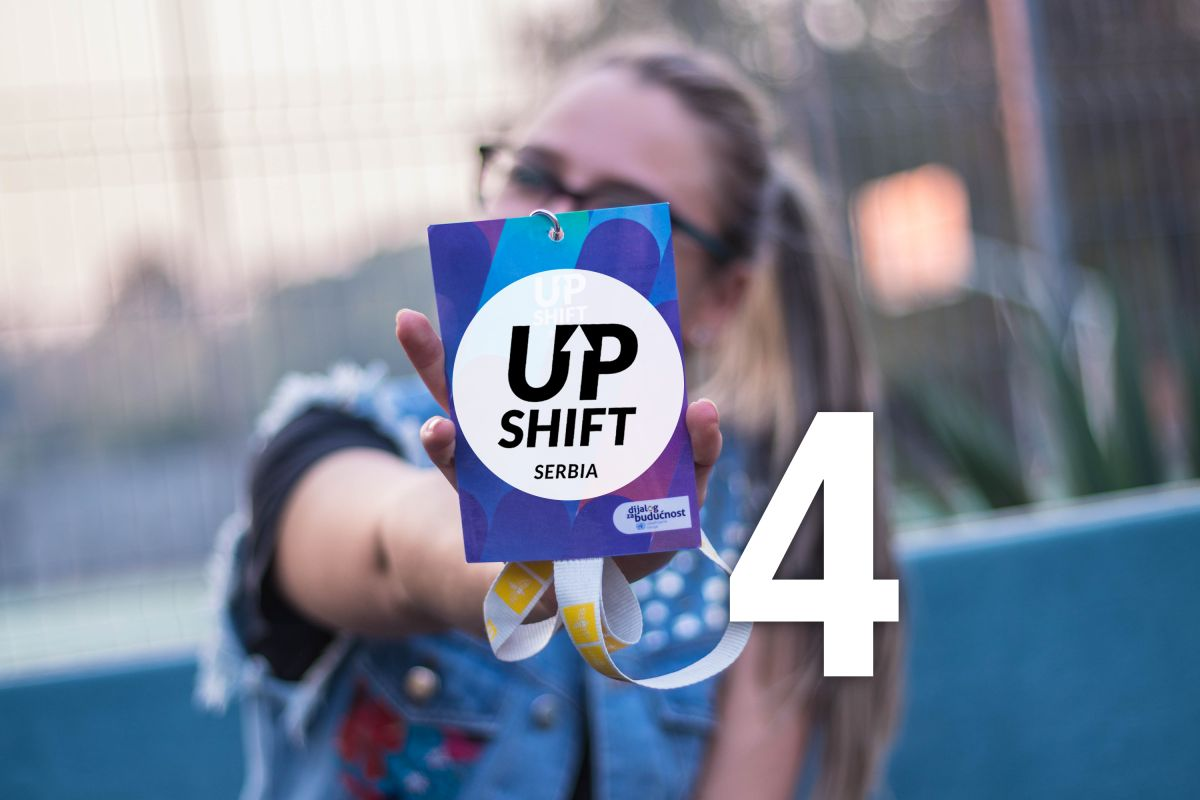 U toku je konkurs za  UPSHIFT 4 onlajn radionicu za mlade