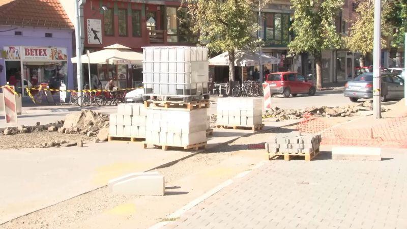Uređenje Vinaverovog trga: Sedam dana bez saobraćaja