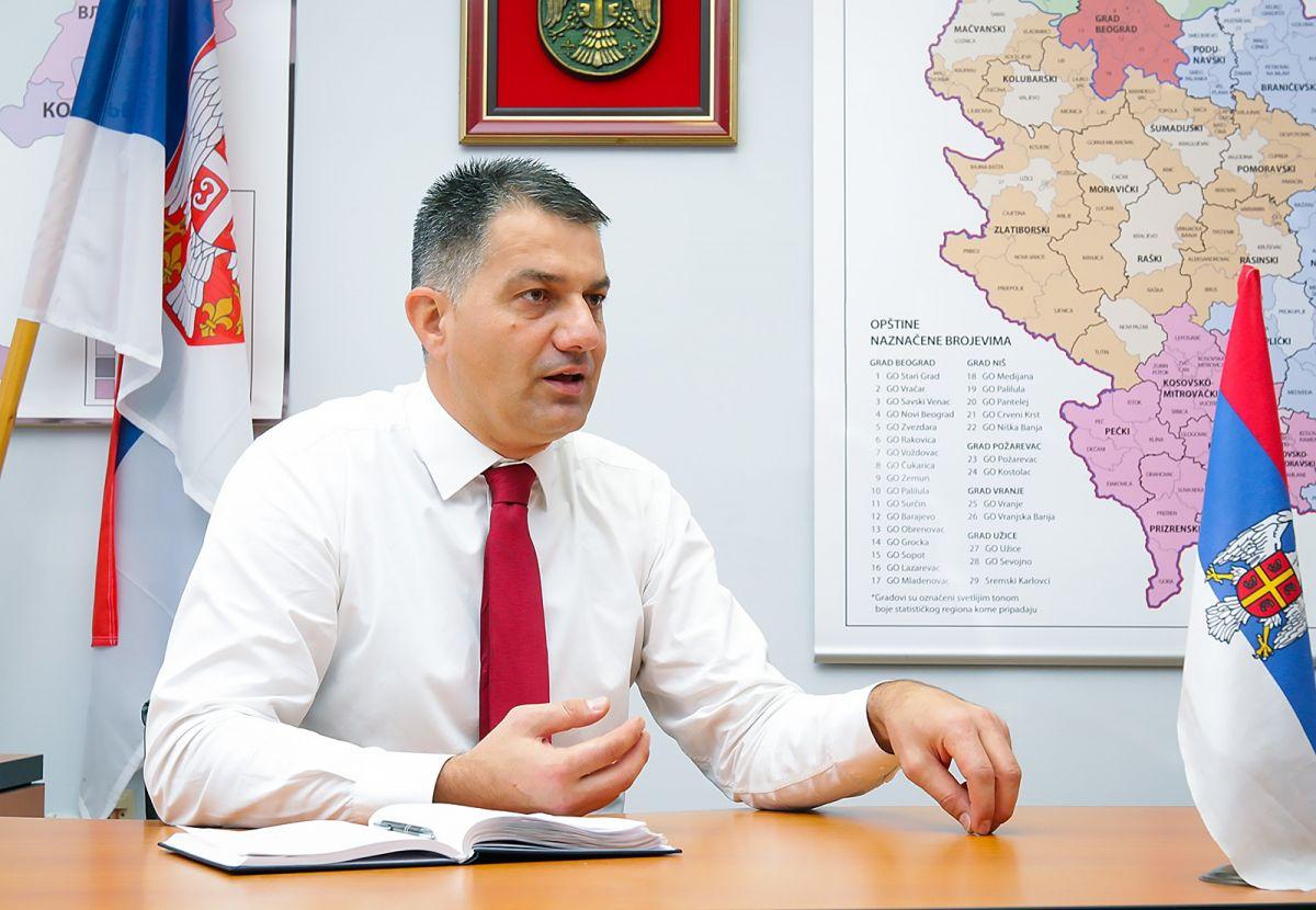 Саопштење за медије  Владана Красавца,начелника Мачванског управног округа
