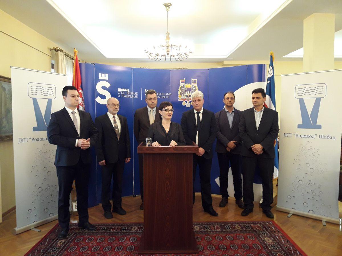 """Успешна година за ЈКП """"Водовод Шабац"""""""