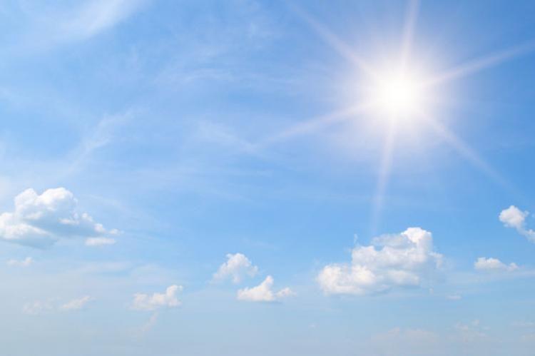 Sutra sunčano, popodne naoblačenje