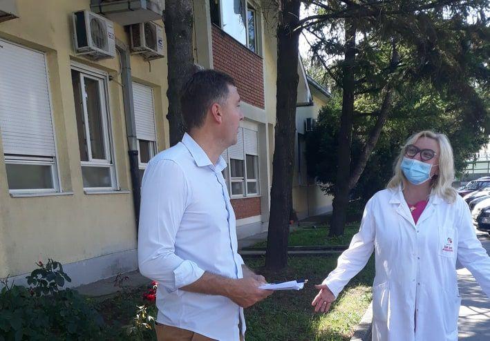 Zelenović: Ozbiljna epidemiološka situacija u Šapcu