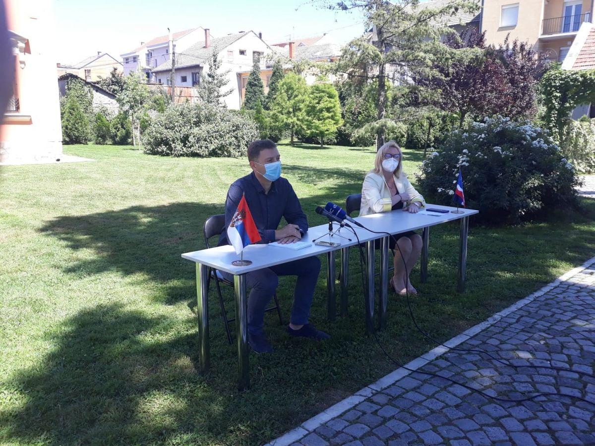 Zelenović: U šabačku bolnicu smešteno 100 pacijenata