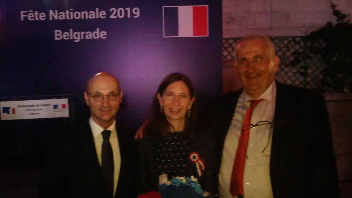Drenovački učitelj i francuski ambasador