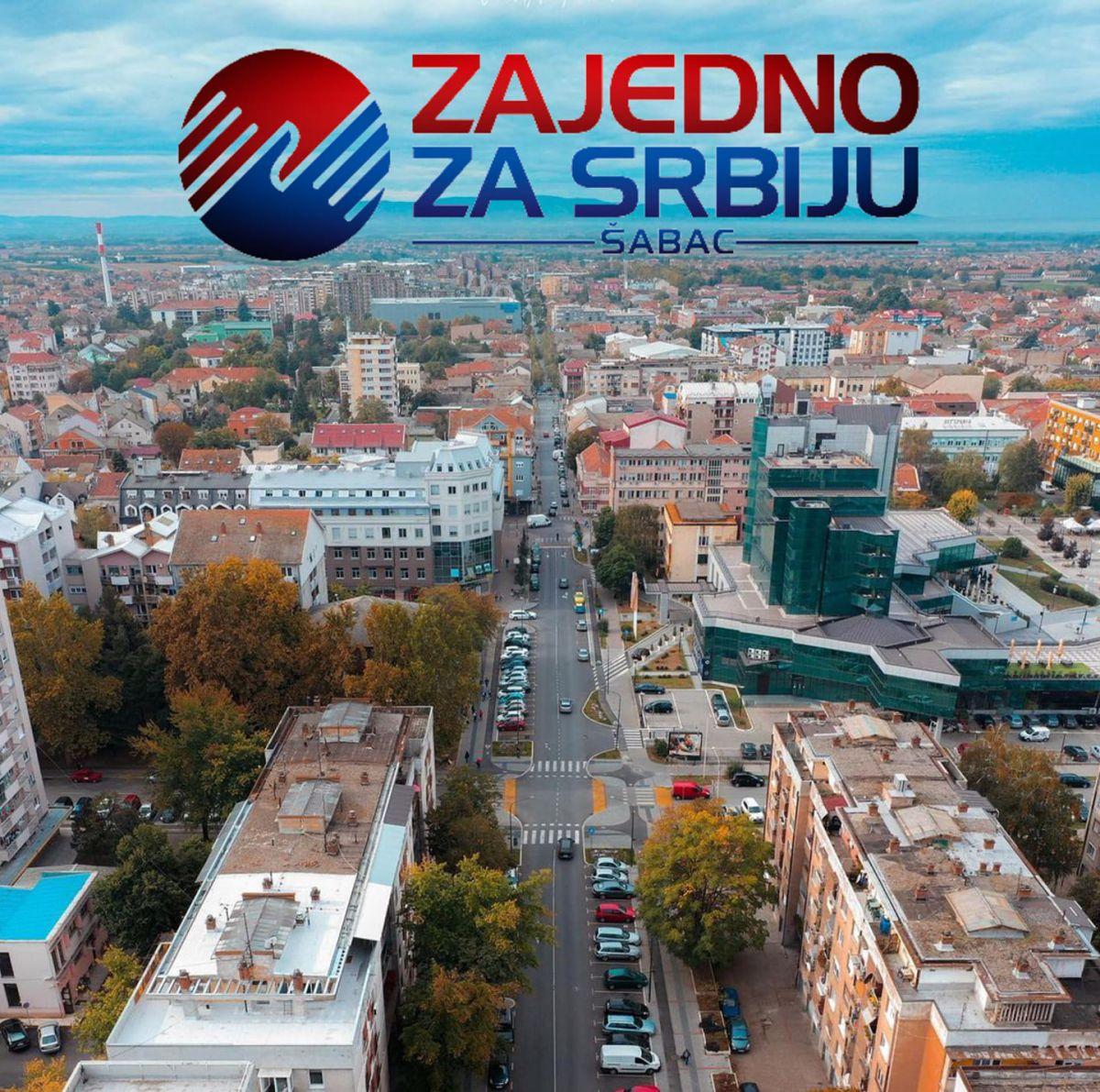 Zajedno za Srbiju Šabac