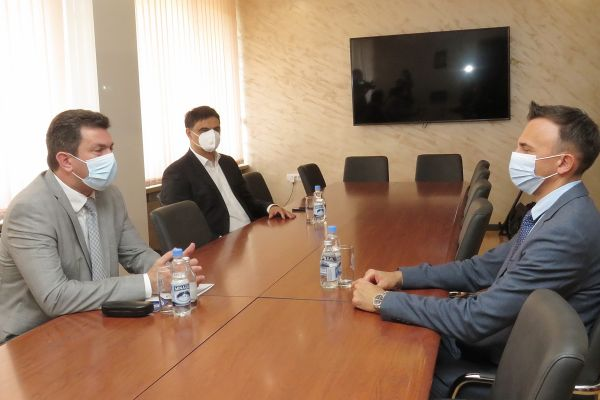 Gradonačelnik Pajić sastao se sa prof. dr Nebojšom Kneževićem