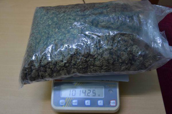 Ухапшен због марихуане